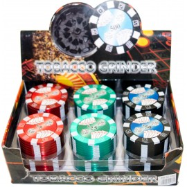 Grinder Set Metal Trio Poker