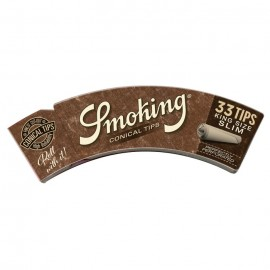 Smoking Brown Conical Tips King Size Slim