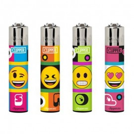 Encendedor Clipper Mechero Cp11 Emoji Mix Cool 2
